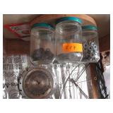 Jars of Bolts & Nuts, Wire