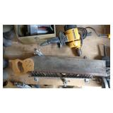 Hand Saw & Drill