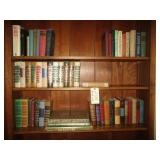 Contents Of Book Shelves