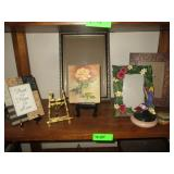 Picture Frames, Trinket Boxes