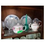 Tea Pots, Plates, Wine Glasses and More