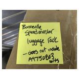 Triumph luggage rack
