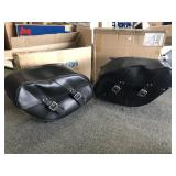 Triumph soft side bags pair