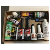 Grouping fuel system dryer, lubricants, break