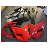Ducati 848 top cowl,  both side fairing, both