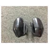 Set Ducati carbon fiber heat gaurds for monster