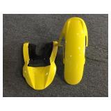 Ducati scrambler icon, front and rear mudguard