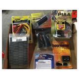 Grouping, spark plug wire kit, hourmeter,
