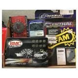 Grouping, various sprockets, BMC air filter etc