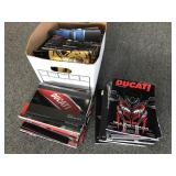 Collection of Ducati catalogs