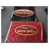 2 Moto Guzzi banners