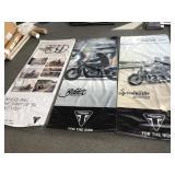 3 Triumph posters