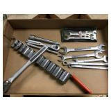 Craftsman socket set and wrenches