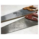 2 Craftsman hand saws