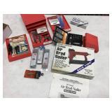 Air nailer, drill bits