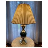 Stiffel table lamp and table