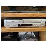 Sanyo DVD/VCR player, LG Blu-ray disc player