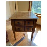 Pair Hammary Furniture Co. lamp tables
