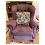 Lazy boy classic upholstered reclining armchair