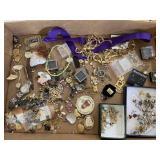 Miscellaneous costume jewelry