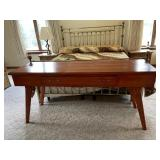 Quality hand crafted one drawer wall table