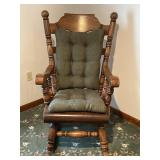 Paul Bunyan rocking chair