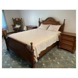 Furniture Manor quality five piece bedroom suite