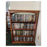 Quality handmade oak bookcase