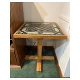 Marble game board table