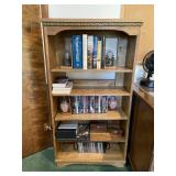 High-quality wooden bookcase
