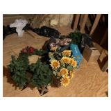 Large grouping Christmas decorations, housewares
