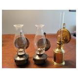 Ship oil lamps