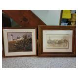 2 lighthouse prints