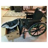 Wheelchair and parts