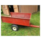 Steel yard trailer