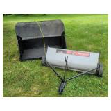 Lawn Sweeper & catch bag