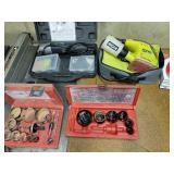 Power tools and hole saw kits