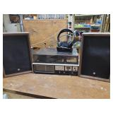 Vintage Sanyo stereo and speakers