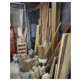 Huge lot of wood pieces