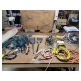 Lights, cords, belts, etc