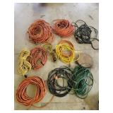 Extension cords & rope
