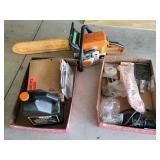 Stihl MS 210C chainsaw & accessories