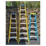 3 Werner step ladders