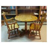 Breakfast table & chairs