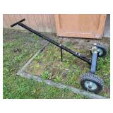 Tow dolly with receiver