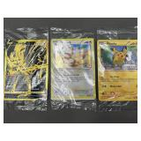 3 Sealed Pokemon Promo Cards