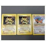 3 Pokemon WB Presents Promo Cards