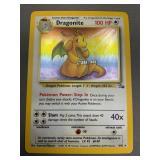 Pokemon Fossil Dragonite Hologram 4/62