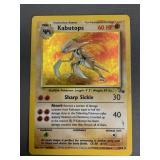 Pokemon Fossil Kabutops Hologram