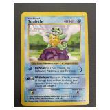 Pokemon Base Set Shadowless Squirtle
